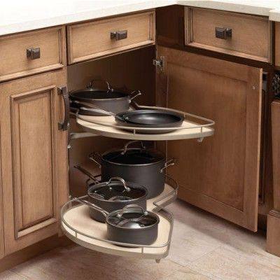 Kidney Lazy Susan · Filler Pullout
