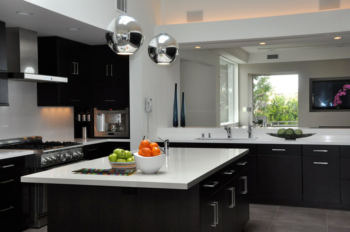 ... Modern Kitchen Cabinets With Large Island ...