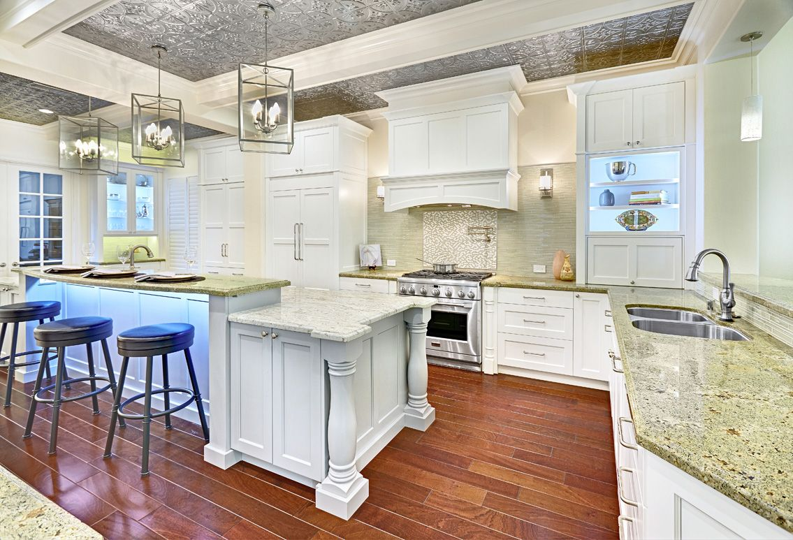 Residential_Kitchen_Over_120000_Nari_Local_2014 2; Designer Traditional  Kitchen Cabinetry; Bright ...